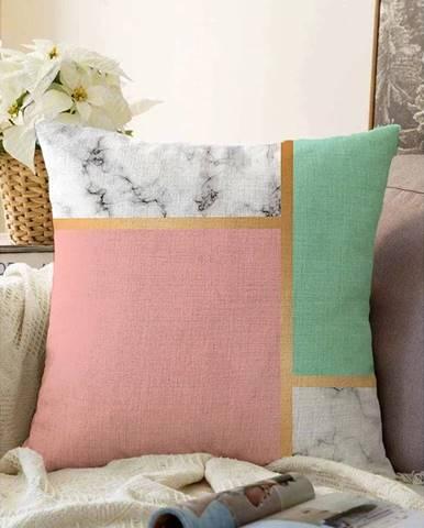 Obliečka na vankúš s prímesou bavlny Minimalist Cushion Covers Elegant, 55 x 55 cm