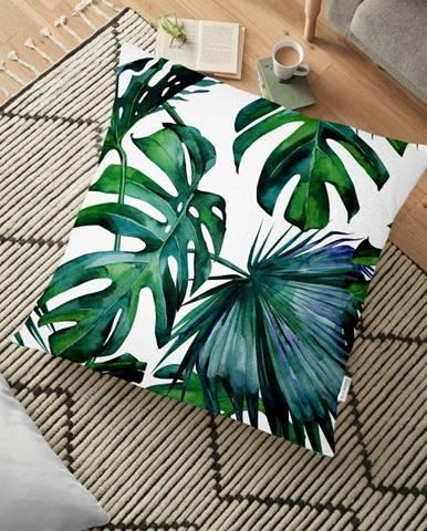 Obliečka na vankúš s prímesou bavlny Minimalist Cushion Covers Monstera, 70 x 70 cm