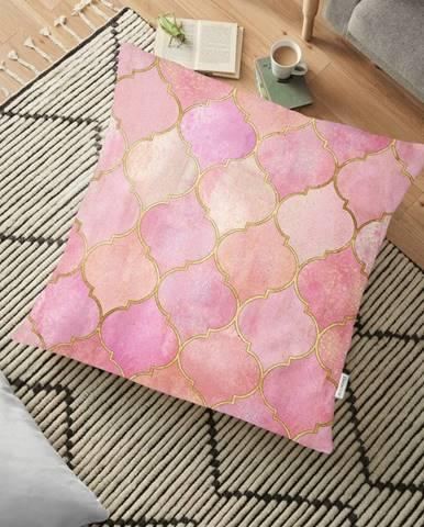 Obliečka na vankúš s prímesou bavlny Minimalist Cushion Covers Pinky Orient, 70 x 70 cm