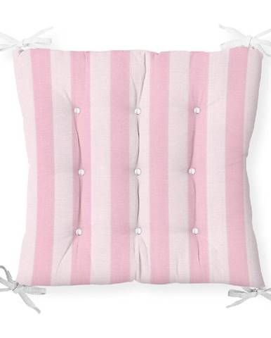 Sedák s prímesou bavlny Minimalist Cushion Covers Cute Stripes, 40 x 40 cm