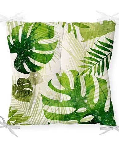 Sedák s prímesou bavlny Minimalist Cushion Covers Monstera, 40 x 40 cm