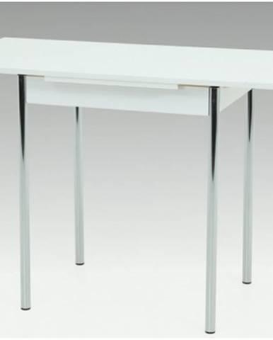 Jedálenský stôl Bonn II 75x55 cm, biely%