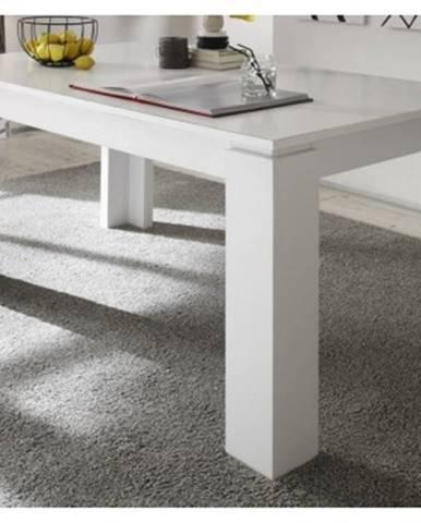 Jedálenský stôl Universal 160x90 cm, biely%