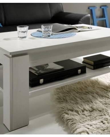 Konferenčný stolík Universal 112-56, bielená pínia%