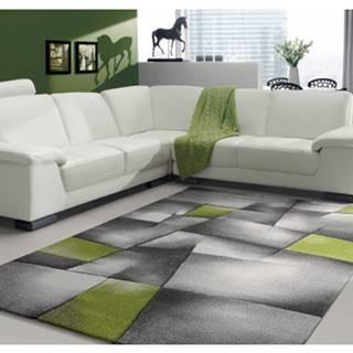 Koberec Brilliance 160x230 cm, šedo-zelený%