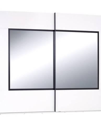 Skriňa Toledo Š. 270 Cm Dekor Biela/čierna