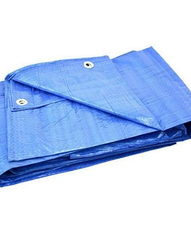 GEKO Nepremokavá krycia plachta s okami Standard modrá, 5 x 6 m