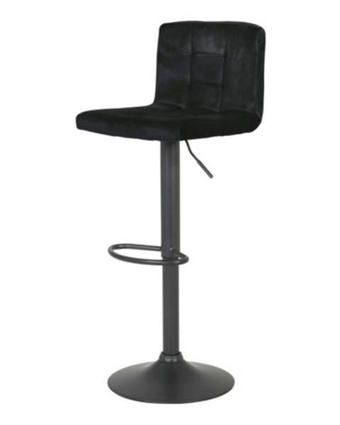 Sconto Barová stolička AMANDA II H čierna