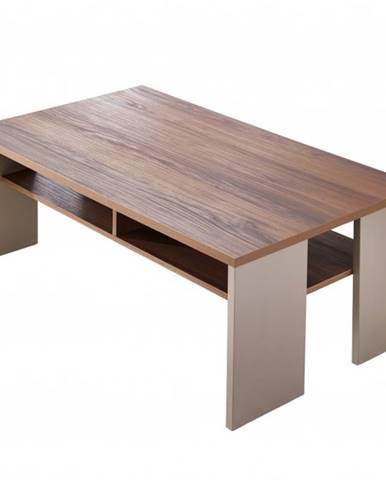 Konferenčný stolík SAIGON orech/farba čadič