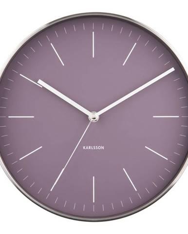 Karlsson 5732PU dizajnové nástenné hodiny, pr. 28 cm