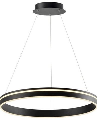 LED ZÁVESNÁ LAMPA, 59/120 cm - antracitová