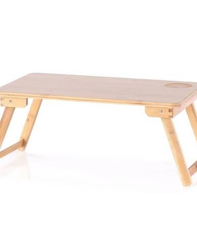 Bambusový stolík na notebook Koda, 22 x 30 x 50 cm