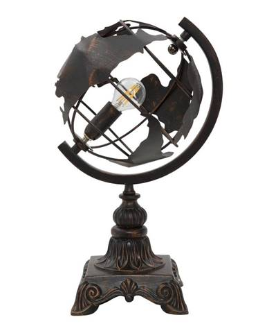 Čierna stolová industriálna lampa Mauro Ferretti World
