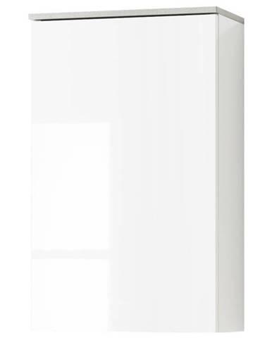 Závesná skriňa GAVERA biela/betón