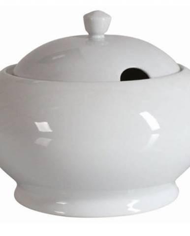 Misa na polievku 2,6 L okrúhla, biela