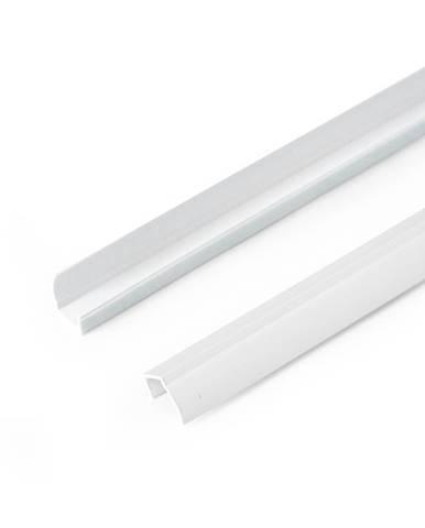 Gardinia Bočná vodiaca lišta pre Mini rolety biela, 150 cm, sada 2 ks