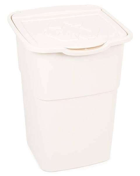 Banquet Kôš na triedený odpad Eco Master 50 l, biela