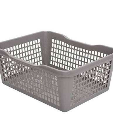 Aldo Plastový košík 47,5 x 37,8 x 20,8 cm, sivá