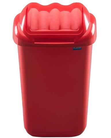 Aldotrade Odpadkový kôš FALA 30 l, červená