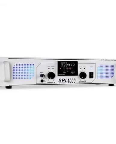 PA zosilňovač Skytec SPL-1000, USB, SD, MP3, 2800 W biely