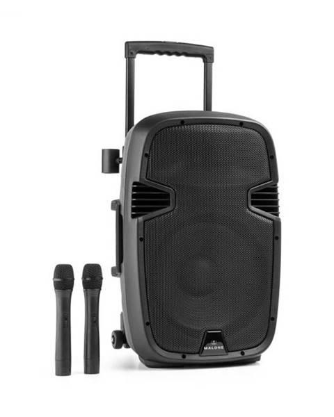 Malone Malone Bushfunk 30, aktívny PA reproduktor, 700 W, bluetooth, akumulátor, USB, SD, MP3 VHF