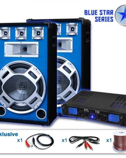 "Skytronic Skytronic PA set Blue Star Series""Beatstar"", 2000 W"