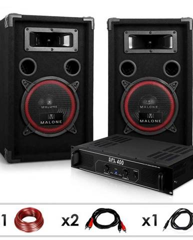 "Electronic-Star Set ""DJ 12"", zosilňovač, reproduktory, 1000 W"