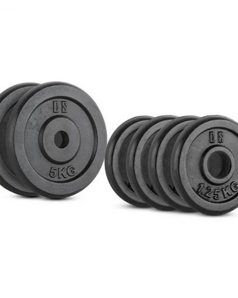 Capital Sports Capital Sports IPB 15 kg Set, sada závaží na činky, 4 x 1,25 kg + 2 x 5 kg, 30 mm