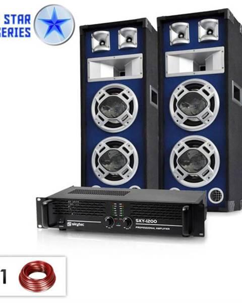"Electronic-Star Electronic-Star ,,Bassboom"", 1600W, PA set zo série Blue Star"