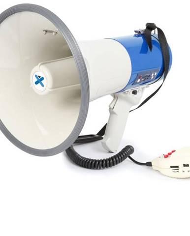 Vonyx MEG065, megafón, 65 W, funkcia nahrávania, siréna, USB, SD, AUX, prevádzka