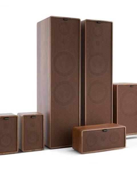Numan Numan Retrospective 1977 MKII 5.1 soundsystém orech vrátane hnedého krytu