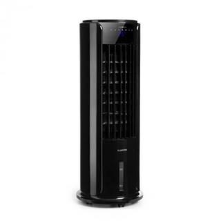 Klarstein Skyscraper Horizon, ochladzovač vzduchu, ventilátor, 60 W, 486 m³/h, 3.5 l vodná nádrž, čierny