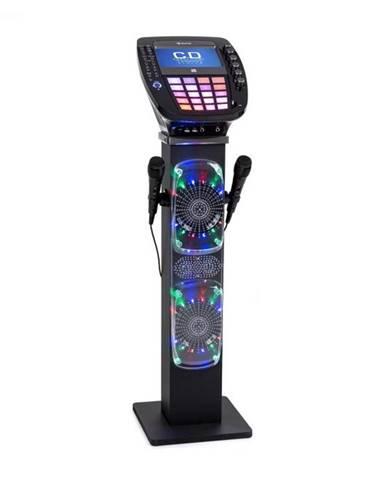 Auna KaraBig karaoke zariadenie Bluetooth LED 7'' TFT CD USB vstavaný reproduktor