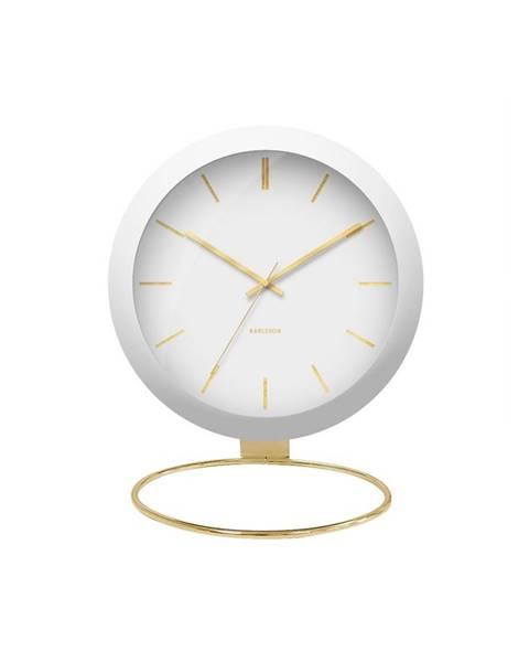Karlsson Designové stolní hodiny 5832WH Karlsson 25cm