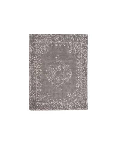 Sivý koberec LABEL51 Vintage, 160 x 140 cm