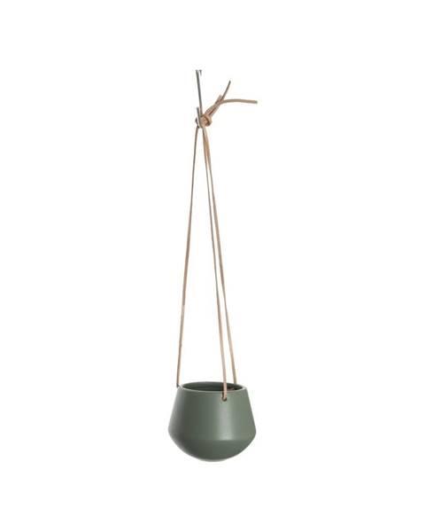PT LIVING Zelený závesný kvetináč PT LIVING Skittle, priemer 12,2cm