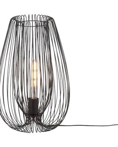 Čierna stolová lampa Leitmotiv Lucid Large