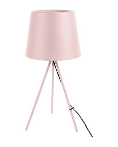 Svetloružová stolová lampa Leitmotiv Classy