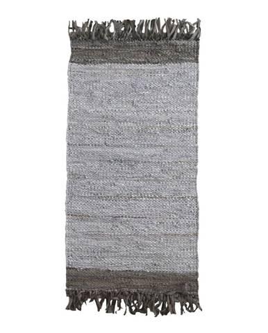 Sivý vzorovaný koberec Geese Beton, 120 x 60 cm
