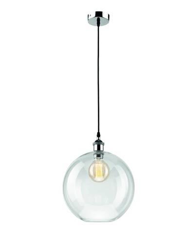 Sklenené závesné svietidlo Lamkur Ball