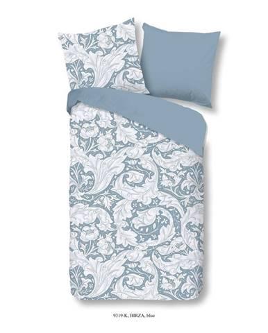 Obliečky na jednolôžko z bavlneného saténu Muller Textiels Risso, 140×200 cm