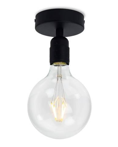 Čierne stropné svietidlo Bulb Attack Uno Basic