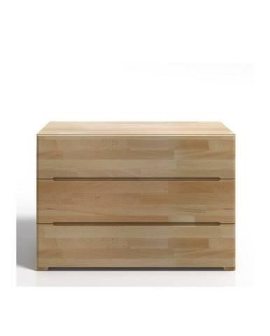 Komoda z bukového dreva s 3 zásuvkami SKANDICA Sparta