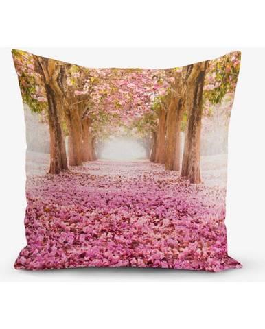 Obliečka na vaknúš s prímesou bavlny Minimalist Cushion Covers Pinky, 45 × 45 cm