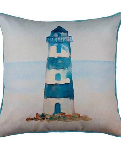 Obliečka na vankúš Mike&Co.NEWYORK Blue Lighthouse, 43 × 43 cm
