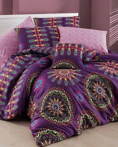 Nazenin Home Obliečky s plachtou na dvojlôžko Nazenin Home Hula, 200×220cm