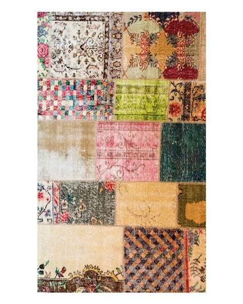 Ambiance Odolný vinylový koberec Vintage Tiles, 60×100cm