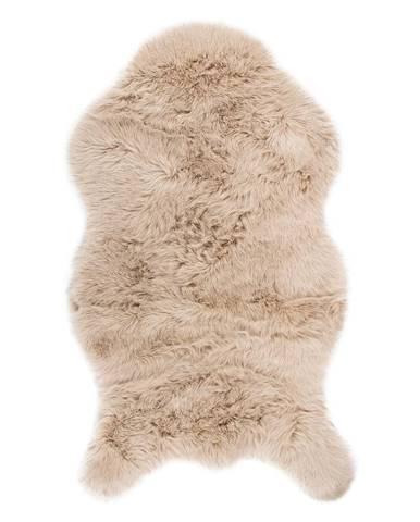 Béžová umelá kožušina Tiseco Home Studio Sheepskin, 80 × 150 cm