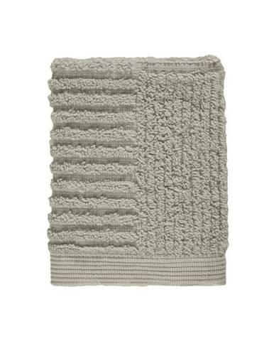 Sivozelený sivý uterák zo 100% bavlny na tvár Zone Classic Eucalyptus, 30×30 cm