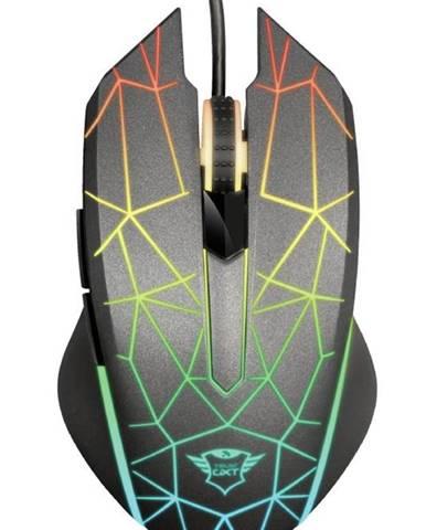 Myš  Trust GXT 170 Heron RGB čierna